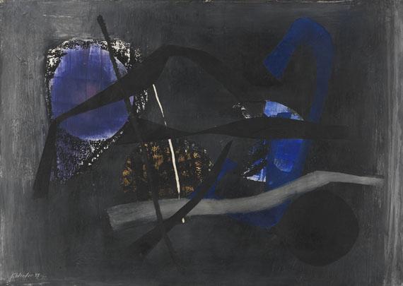 Fritz Winter - Vor der Nacht