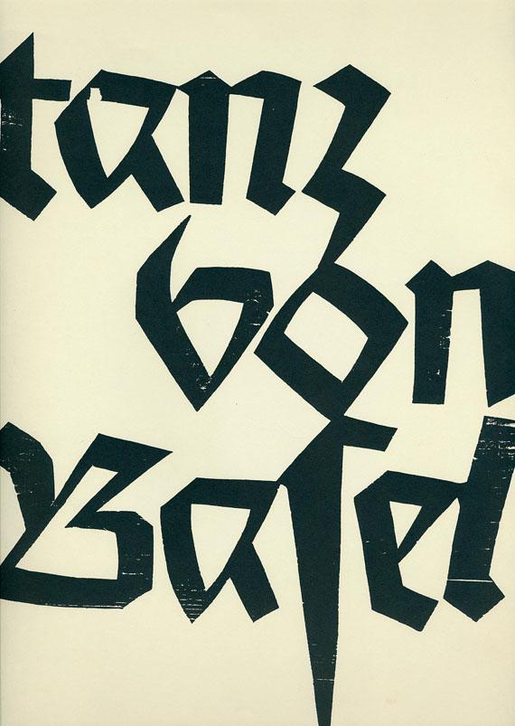 HAP Grieshaber - Totentanz. 1966