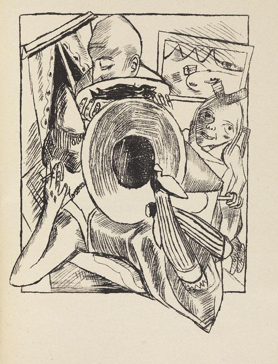 Max Beckmann - Stadtnacht. 1921 - Weitere Abbildung