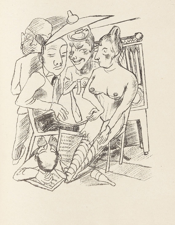 Max Beckmann - Stadtnacht. 1921