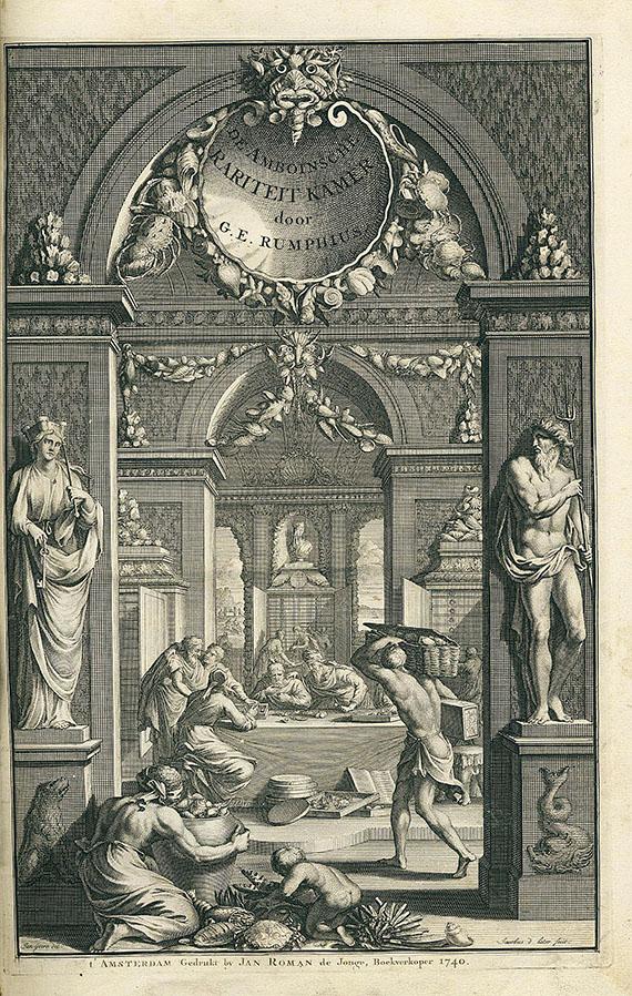 Georg Eberhard Rumpf - Rariteitkamer. 1741.