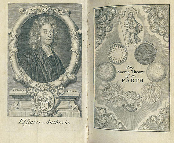 Thomas Burnet - The sacred theory of the Earth. 1734. 2 Bde.