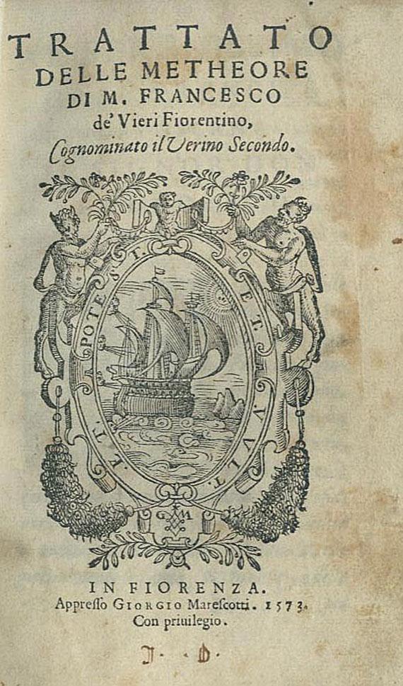 Francesco Vieri - Trattato delle metheore. 1573.
