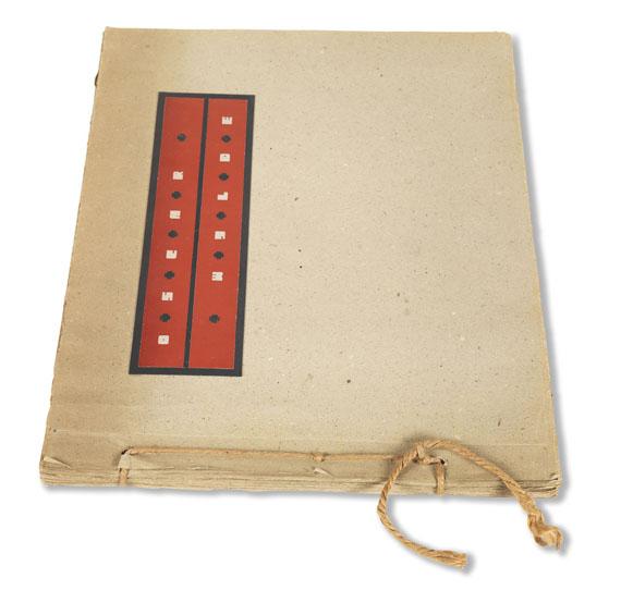Oscar Wilde - Die Ballade vom Zuchthause Reading. 1948. - Weitere Abbildung