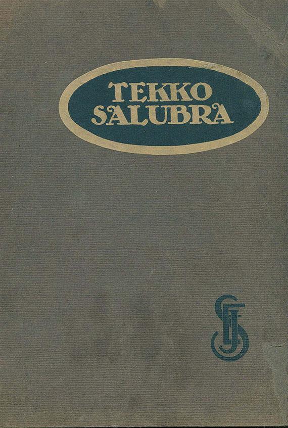 Tapeten - Tekko Salubra, Tapetenmusterkatalog. Um 1930.