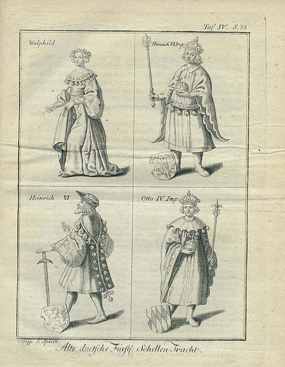 Johann Gottlob Breitkopf - Ursprung der Spielkarten. 1784