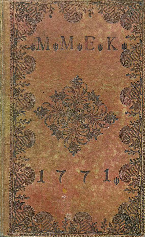 Gesang-Buch - Gesang-Buch. 1767.