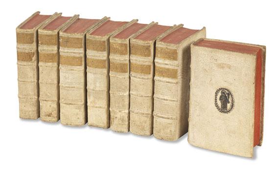 Anaklet Reiffenstuel - Theologia morales. 1756. 8 Bde.