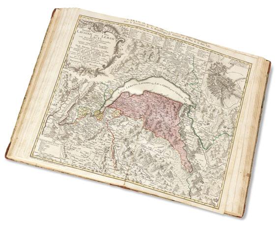 Gabriel Walser - Schweitzer Geographie. 1770 - Weitere Abbildung