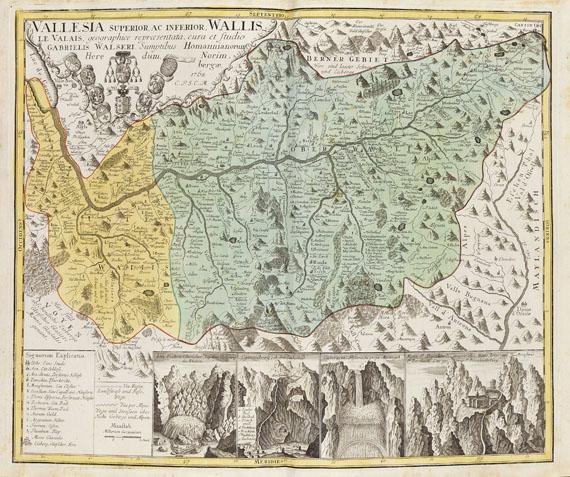 Gabriel Walser - Schweitzer Geographie. 1770