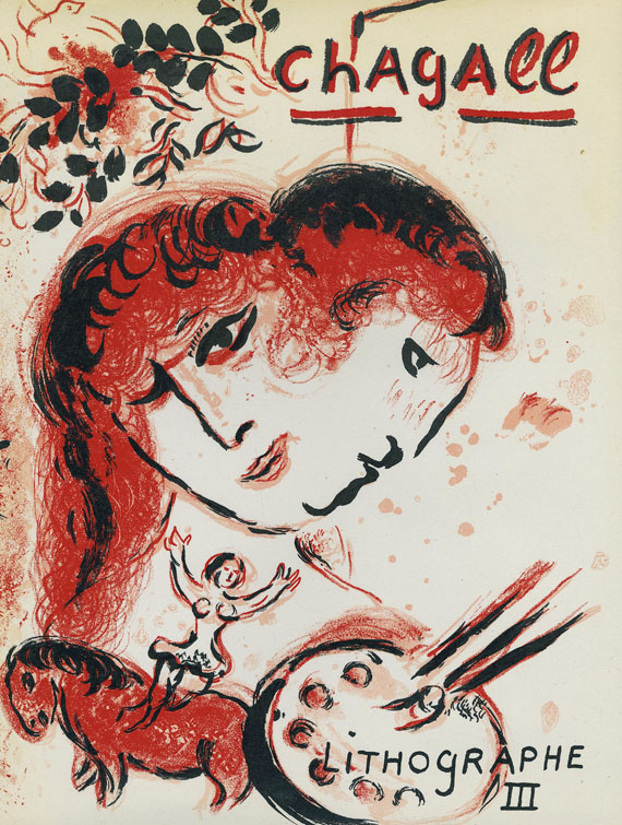 Marc Chagall - Lithograph III. 1969 - dabei: Lithograph IV. 1974