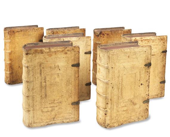 Martin Luther - Alle Deutschen Bücher. 1661-64. 7 Bde.