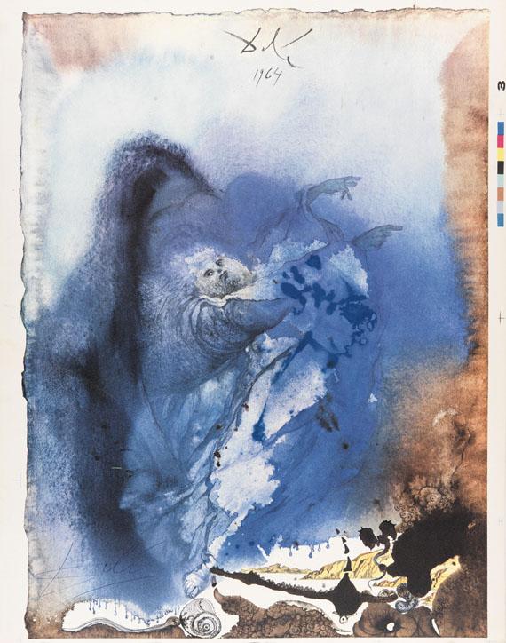 Salvador Dalí - Biblia Sacra. 3 Bde. 1967 - Weitere Abbildung