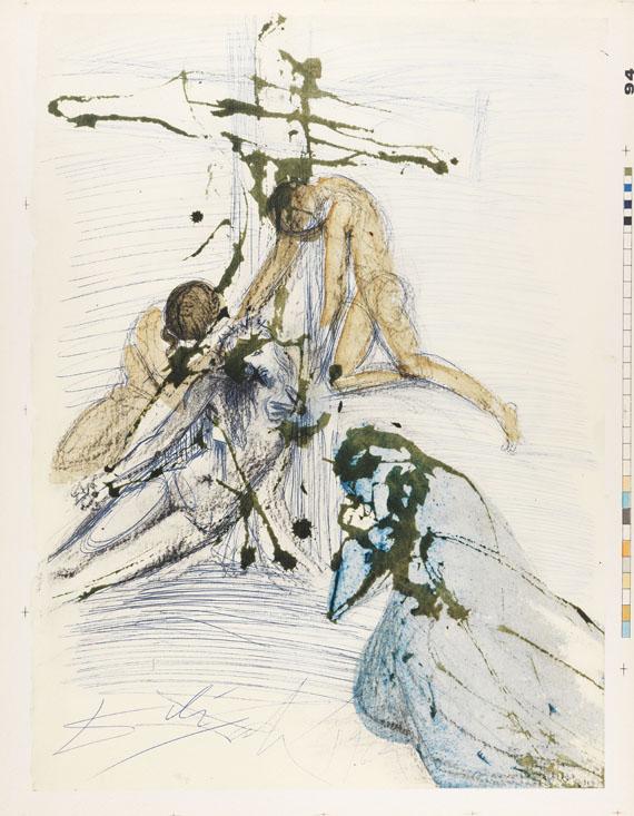 Salvador Dalí - Biblia Sacra. 3 Bde. 1967