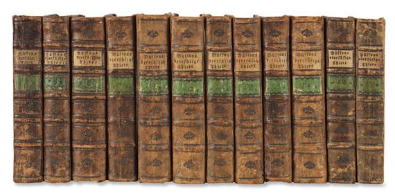Georges Louis Leclerc de Buffon - Naturgeschichte der vierfüßigen Thiere. 1785-91. 12 Bde.