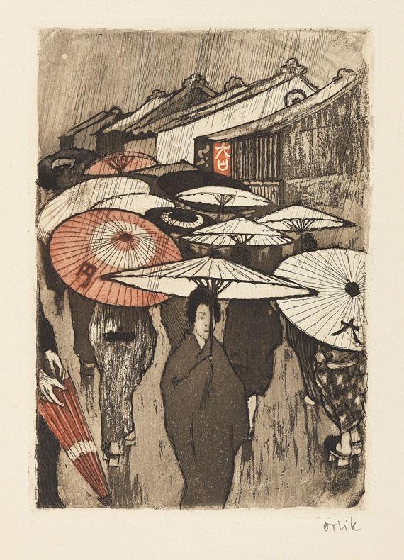 Emil Orlik - Aus Japan. 1901-03. - Weitere Abbildung