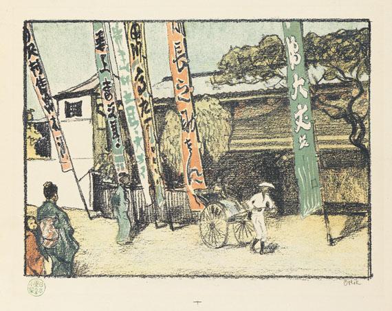 Emil Orlik - Aus Japan. 1901-03.