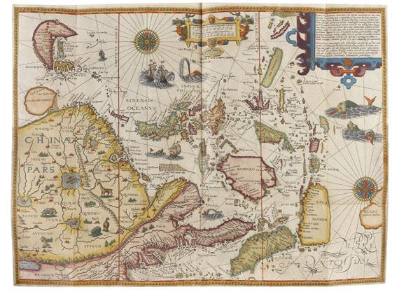 Jan Huygen van Linschoten - Navigatio ac itinerarium. 1599 -