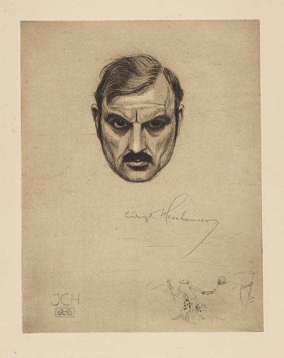 Ludwig Hesshaimer - Der Weltkrieg. Ein Totentanz. 1921
