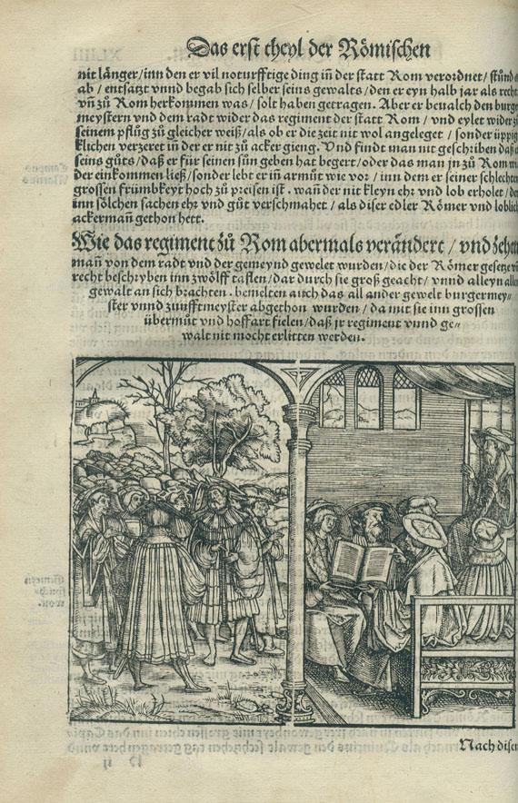 Titus Livius - Römische Historia. Mainz 1533.