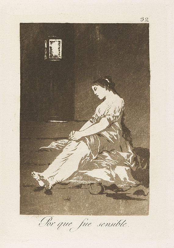 Francisco de Goya - 80 Bll.: Los Caprichos - Weitere Abbildung