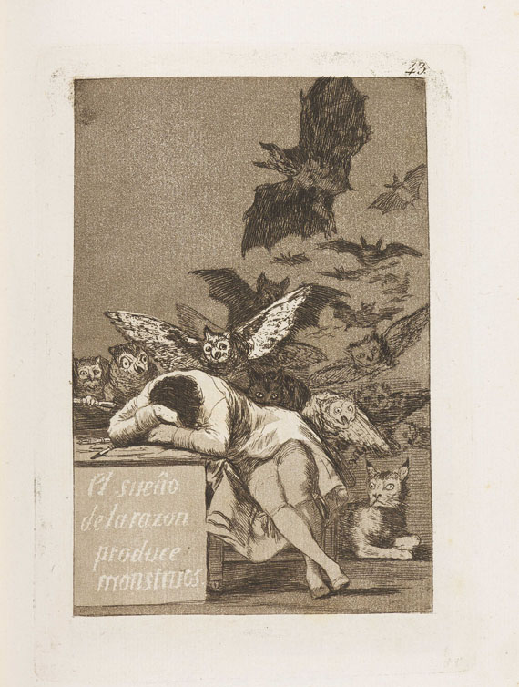Goya - 80 Bll.: Los Caprichos