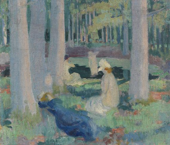Maurice Denis - Dans la Forêt (Baignade à la Mare aux Canes)