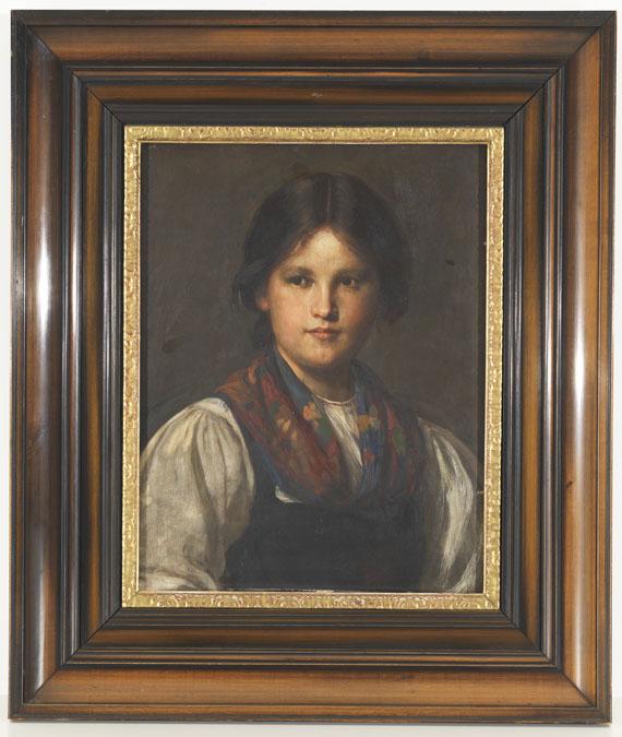 Franz von Defregger - Dirndl - Weitere Abbildung