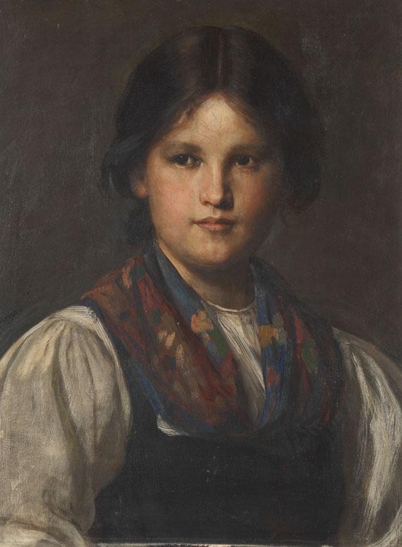 Franz von Defregger - Dirndl