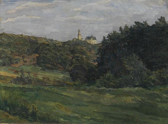 Wilhelm Trübner - Burg Kronberg im Taunus