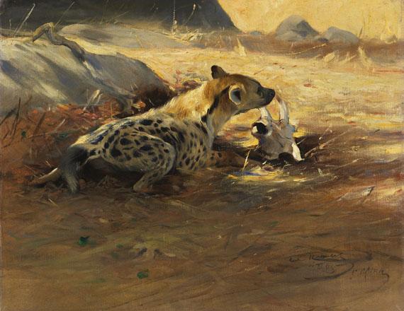Friedrich Wilhelm Kuhnert - Hyäne