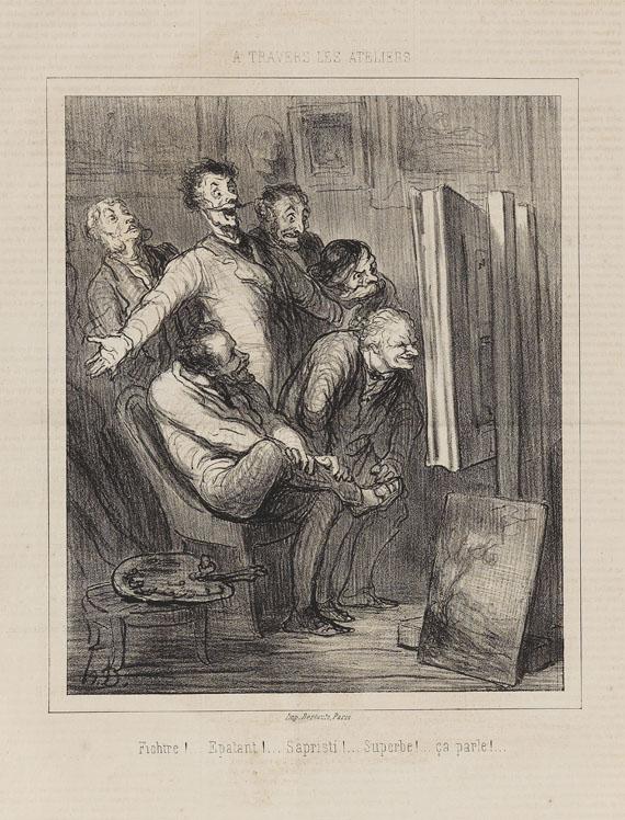 Honoré Daumier - A Travers les Ateliers