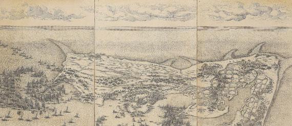 Jacques Callot - Siège de la Citadelle de St. Martin dans l'Ile de Ré