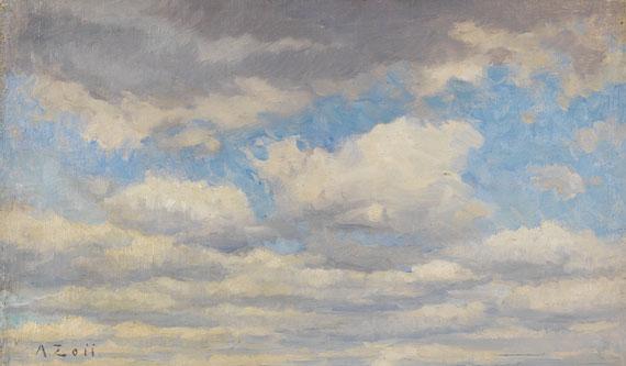 Alfred Zoff - Wolkenstudie