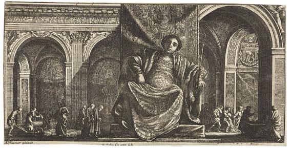 Wenzel Hollar - Nach - Das Reich der Göttin Juno