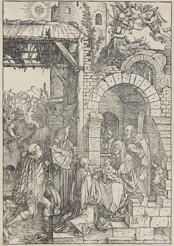 Albrecht Dürer - Die Anbetung der Könige