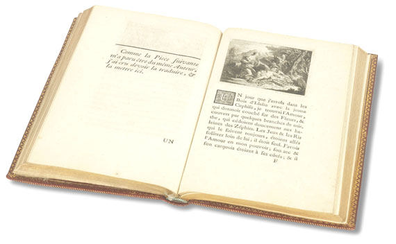 Charles S. L. de Montesquieu - Le temple de gnide. 1742. - Weitere Abbildung