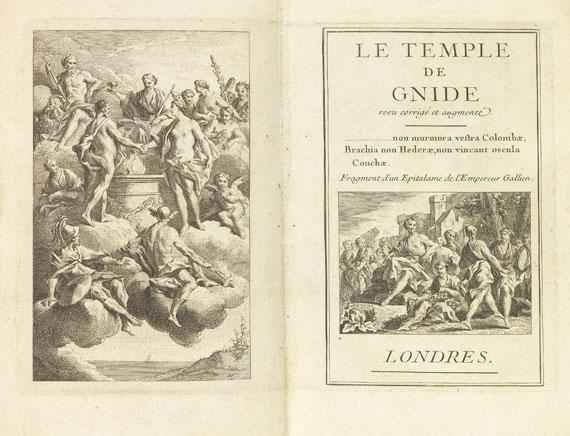Charles S. L. de Montesquieu - Le temple de gnide. 1742.