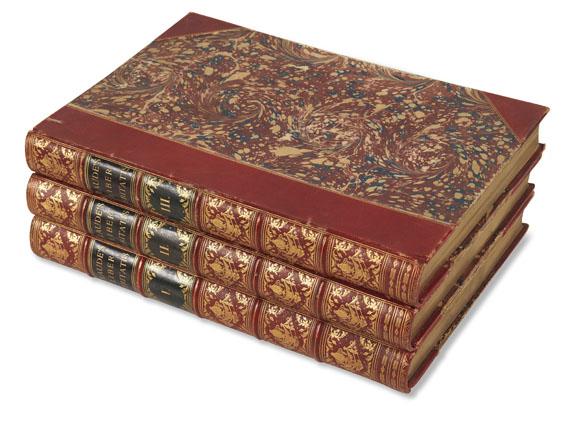 Claude Lorrain - Liber Veritatis. Ca. 1845. 3 Bde..