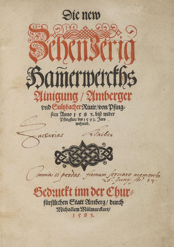 Ludwig VI. - Die new ZehenJerig Hammerwerckhs. 1583.