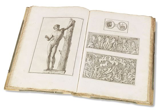 Johann Joachim Winckelmann - Monumenti antichi inediti. 2 Bde. + Suppl. (Raffei, Ricerche). Zus. 3 Bde. 1767-79.. - Weitere Abbildung