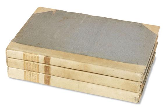 Johann Joachim Winckelmann - Monumenti antichi inediti. 2 Bde. + Suppl. (Raffei, Ricerche). Zus. 3 Bde. 1767-79..