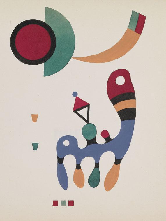 Wassily Kandinsky - 11 tableux et 7 poèmes. 1945