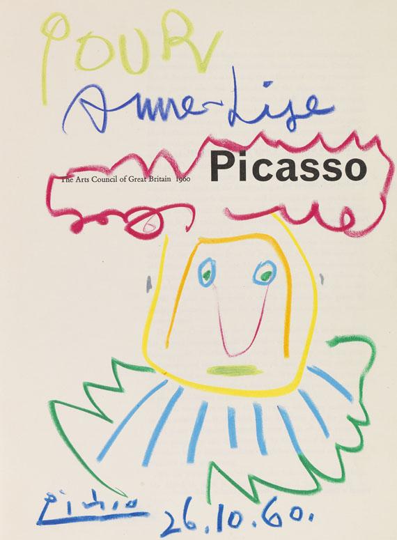 Picasso - Picasso Katalog. The Art Council of Great Britain. 1960. Mit Zeichnungen..