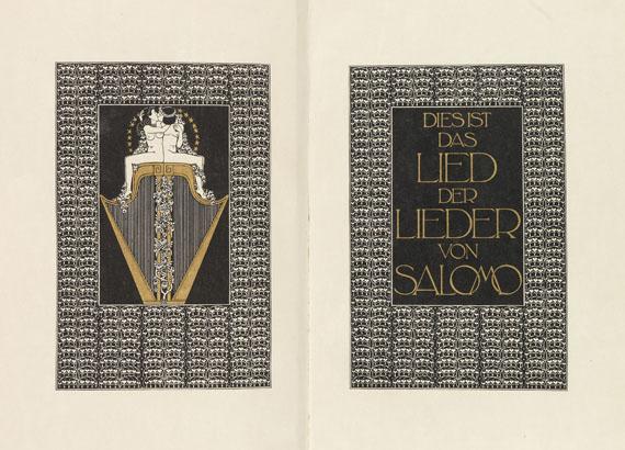 Ernst Ludwig-Presse - Das Hohelied von Salomo.1919.