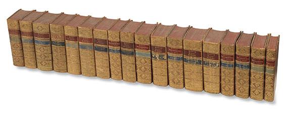 Georges Louis Leclerc de Buffon - Werke. 18 Bde. 1772.