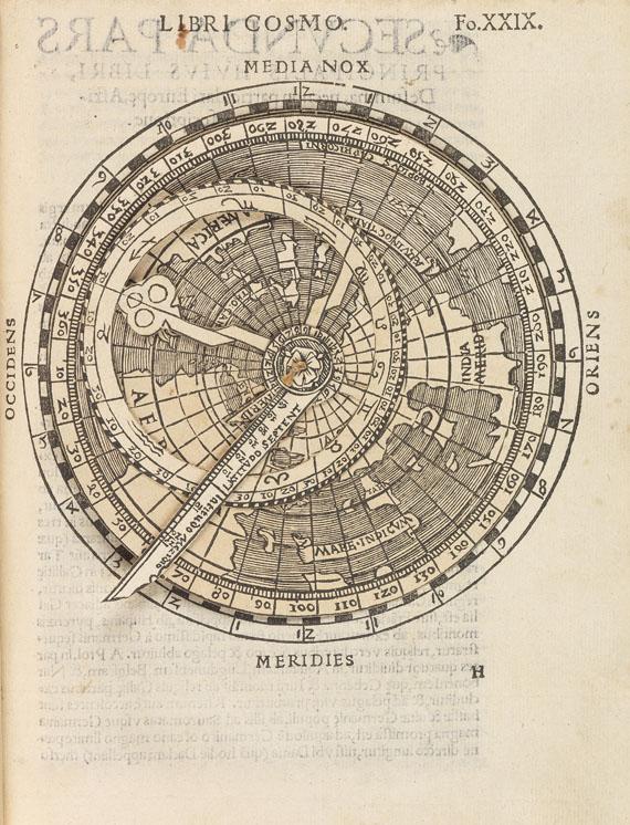 Peter Apian - Cosmographia. 1539