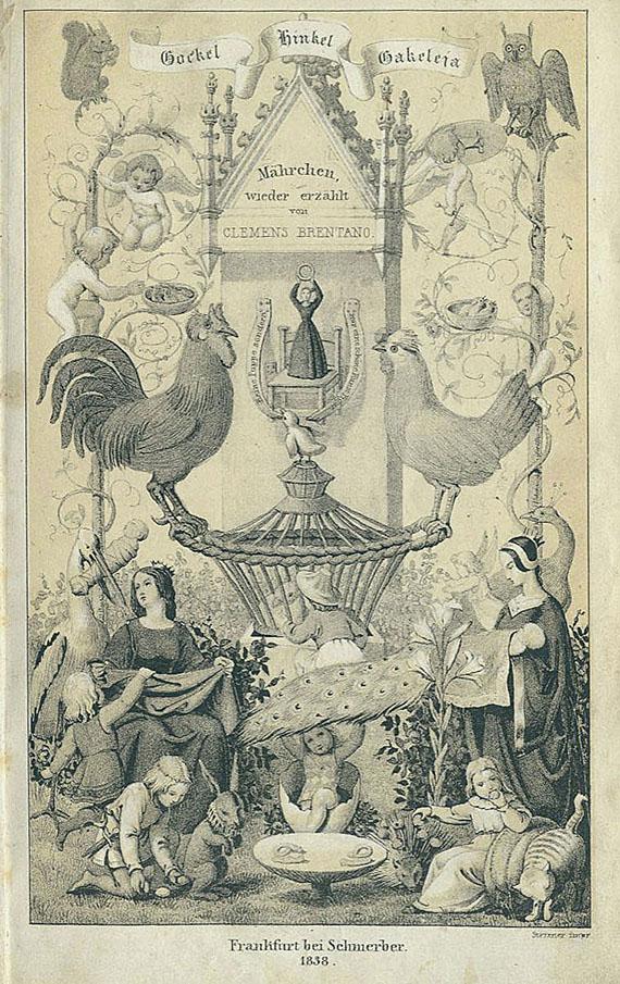 Clemens Brentano - Märchen. 1838
