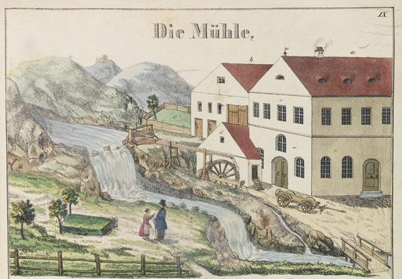 Johann Georg Wirth - Bilderbuch. Die Hütte. 1846 - Weitere Abbildung