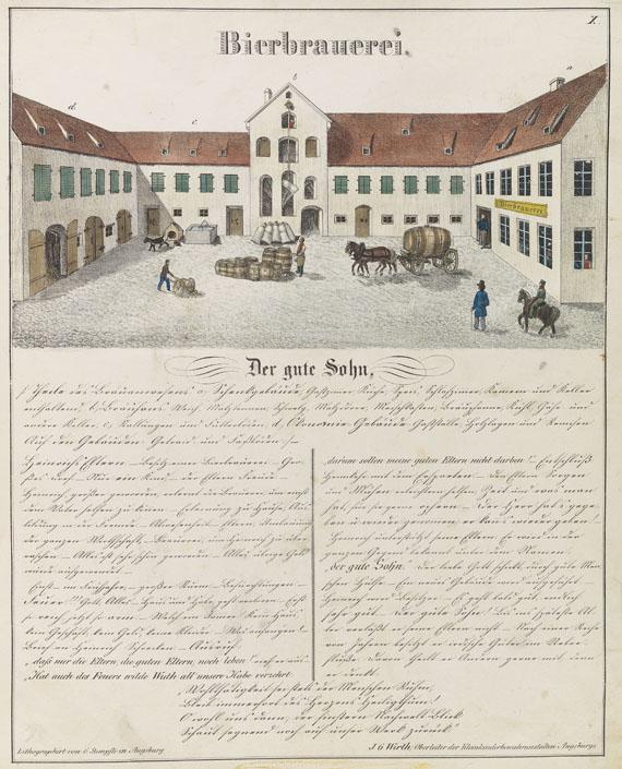Johann Georg Wirth - Bilderbuch. Die Hütte. 1846